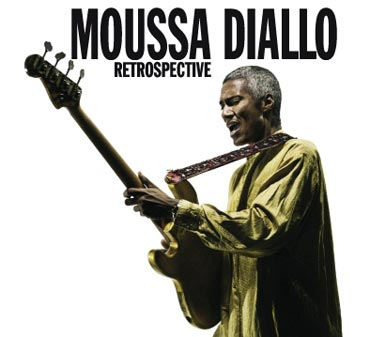CD cover: Moussa Diallo RETROSPECTIVE